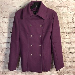 Guess Purple Pea Coat
